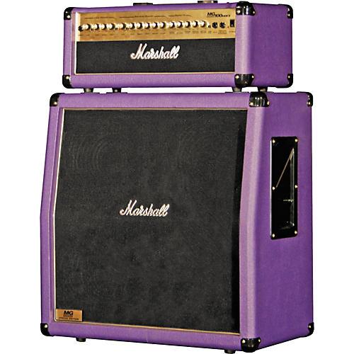 marshall mg100hdfx mg412a slant purple half stack guitar center. Black Bedroom Furniture Sets. Home Design Ideas