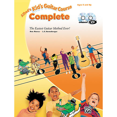 Alfred 00-25783 Sheet Mus Kid's Guitar Course 1 2 Bk Cd