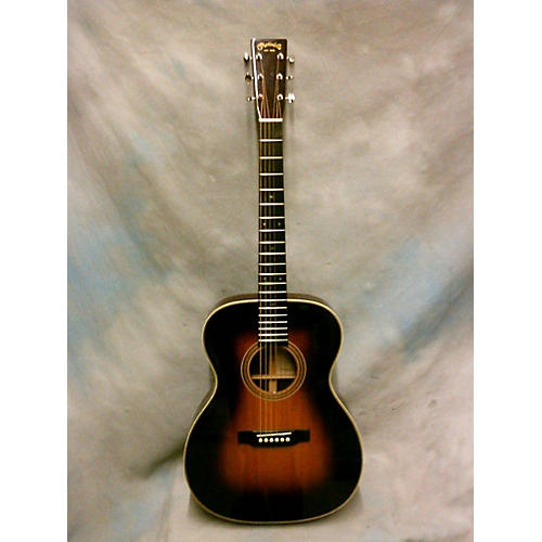 used martin 000 28ec acoustic guitar 3 tone sunburst guitar center. Black Bedroom Furniture Sets. Home Design Ideas