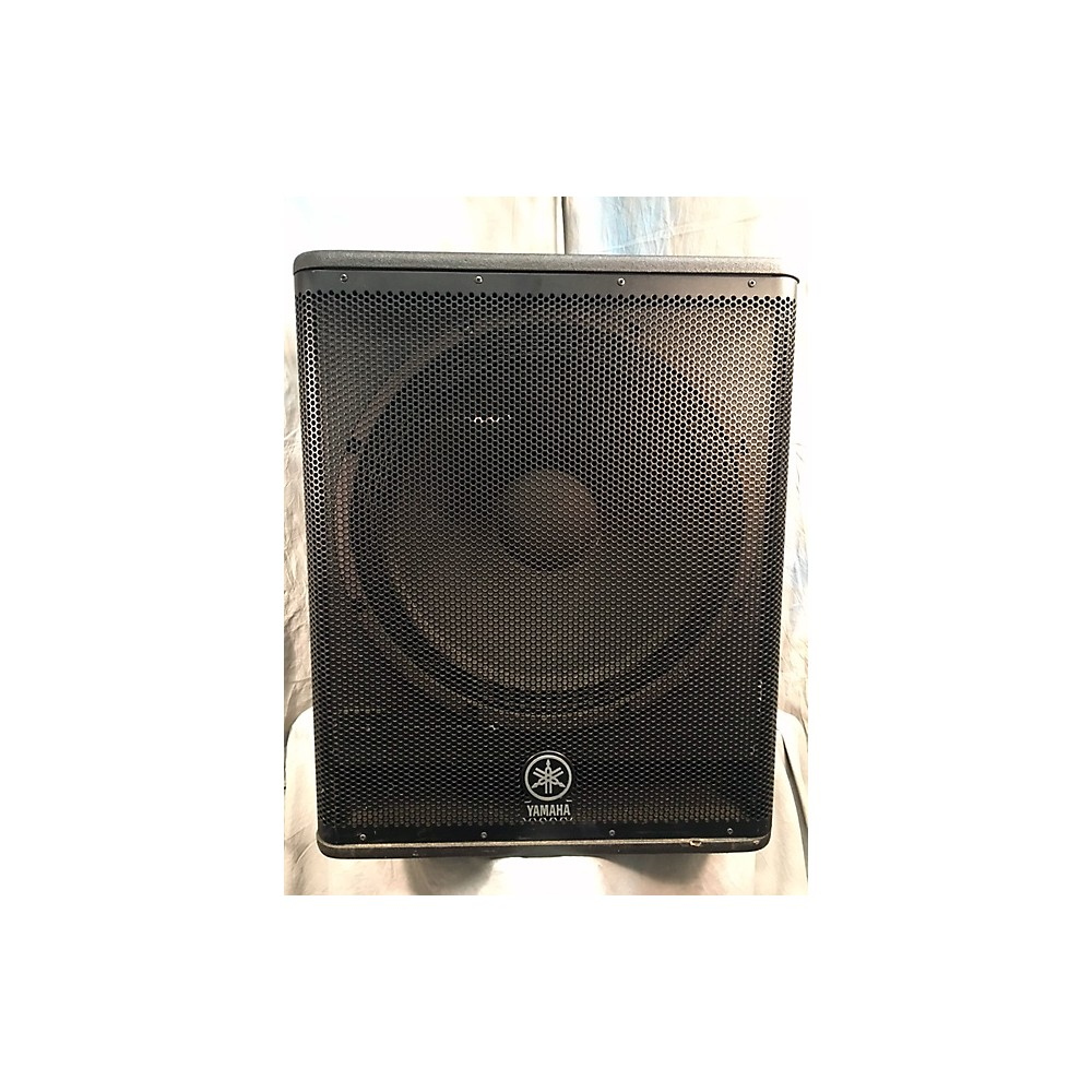 Powered subwoofer usa for Subwoofer yamaha dsr118w