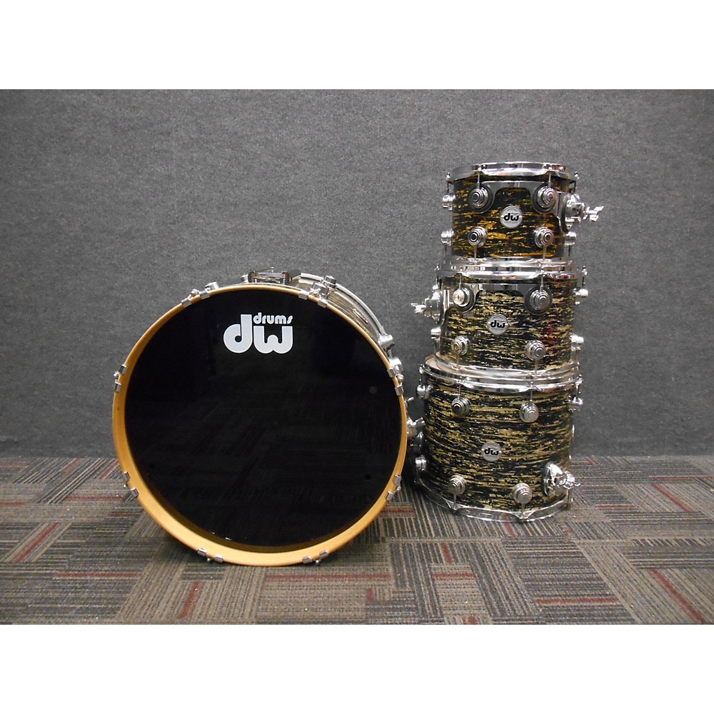DW Collector's Series Drum Kit Black Glass Oyster 112438890