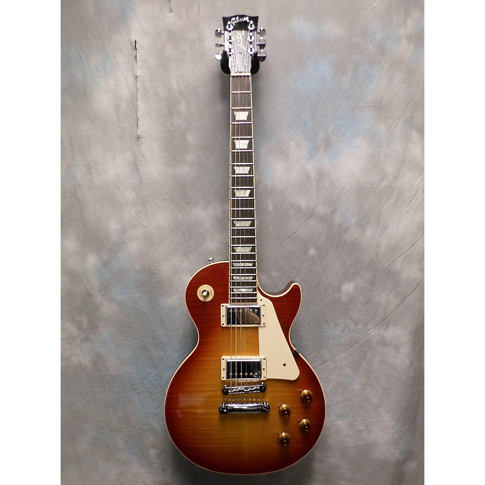 Gibson Les Paul Traditional Japanese Limited Solid Body Electric Guitar Cherry Sunburst 112684795