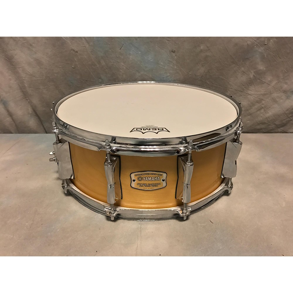 Yamaha stage custom usa for Yamaha stage custom steel snare drum 14x6 5