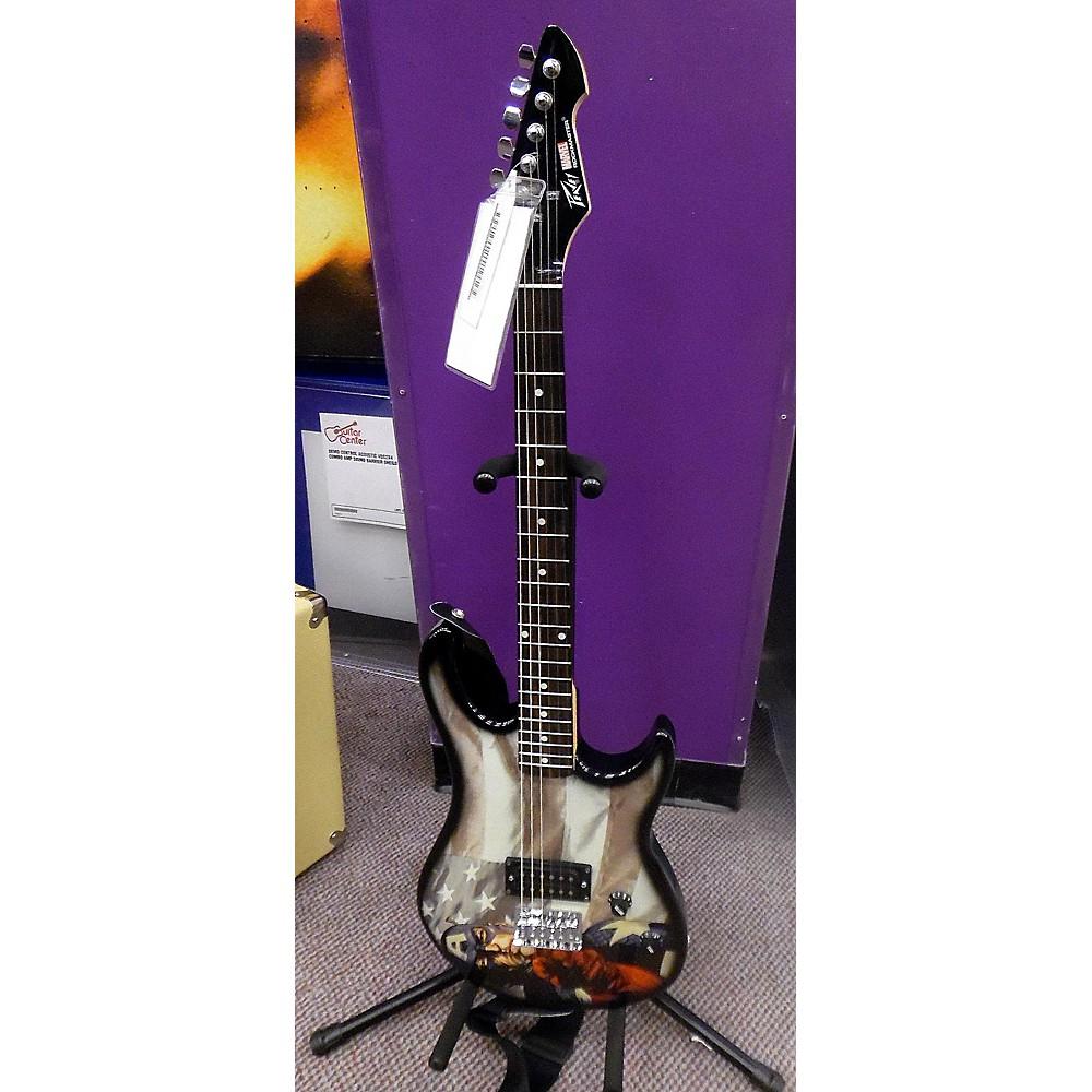 Peavey Rockmaster Marvel Captain America Solid Body Electric Guitar CUSTOM 113001646