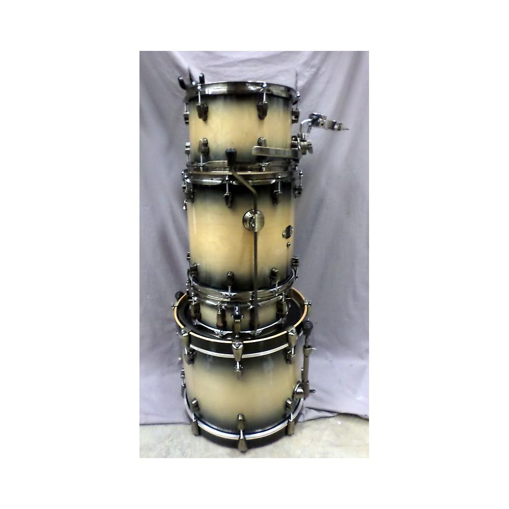 Ludwig Epic Series Downbeat Drum Kit Drum Kit Black Fade 113085235