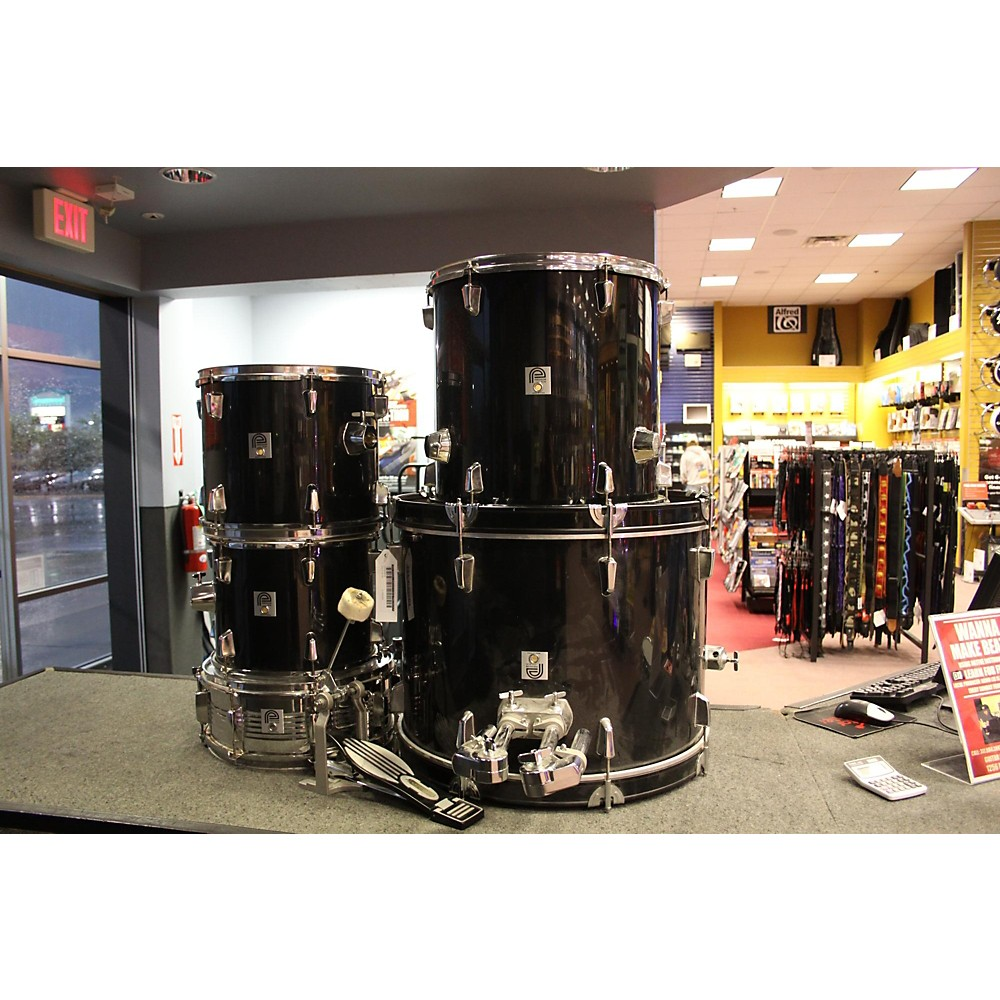 Miscellaneous Precision Plus Drum Kit Black 113129990