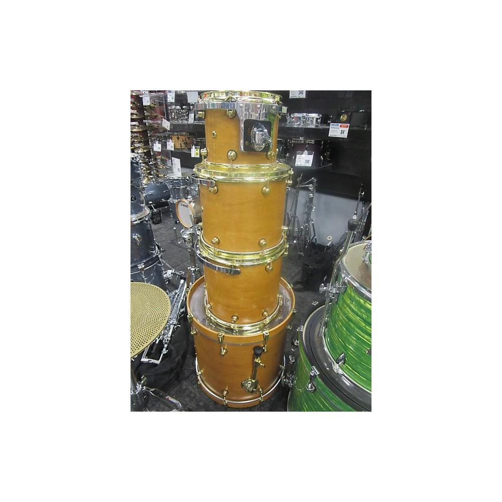Miscellaneous 4-piece Acoustic Drum Kit Drum Kit Natural 113136483