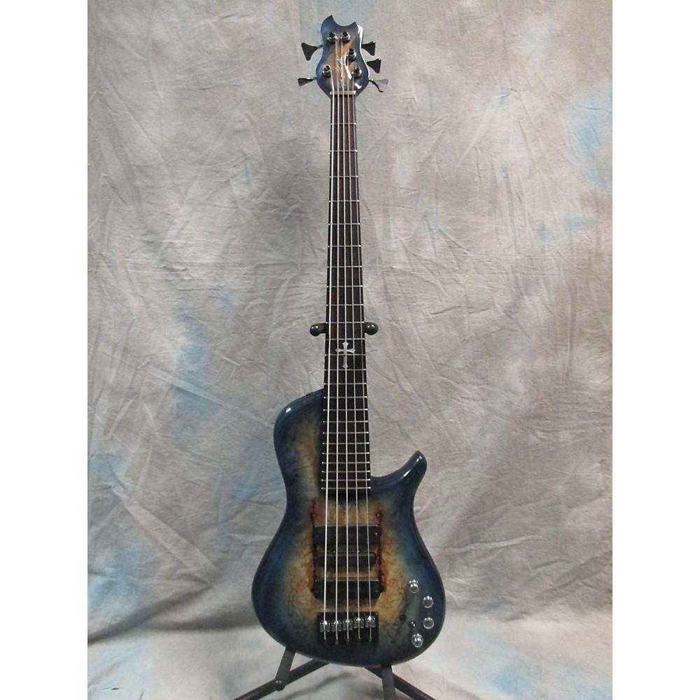 Brubaker Kxb-5 Custom Electric Bass Guitar Lake Placid Blue 113232658