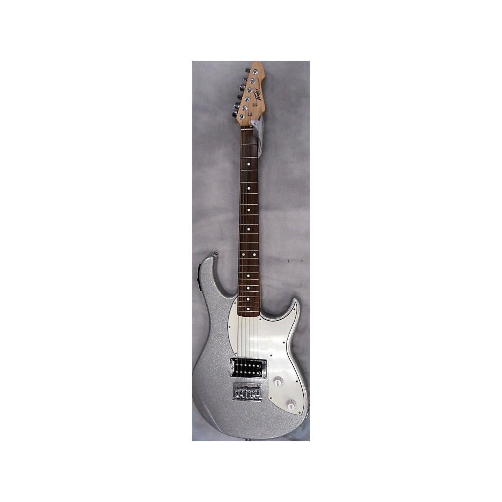 Peavey Rockmaster Solid Body Electric Guitar Metallic Silver 113383826