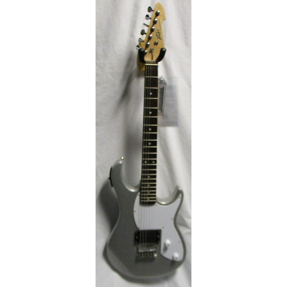 Peavey Rockmaster Solid Body Electric Guitar Silver Sparkle 113433015