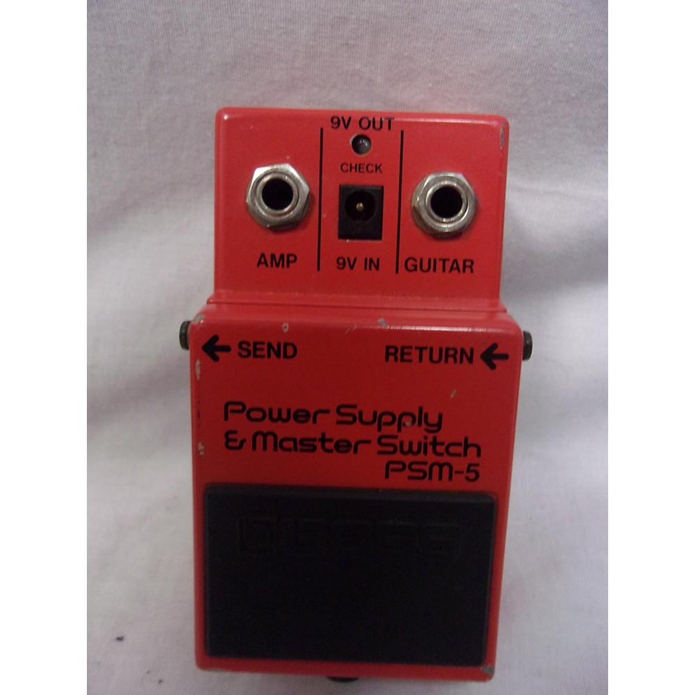 Boss PSM5 Power Supply Master Switch Power Supply 113642309