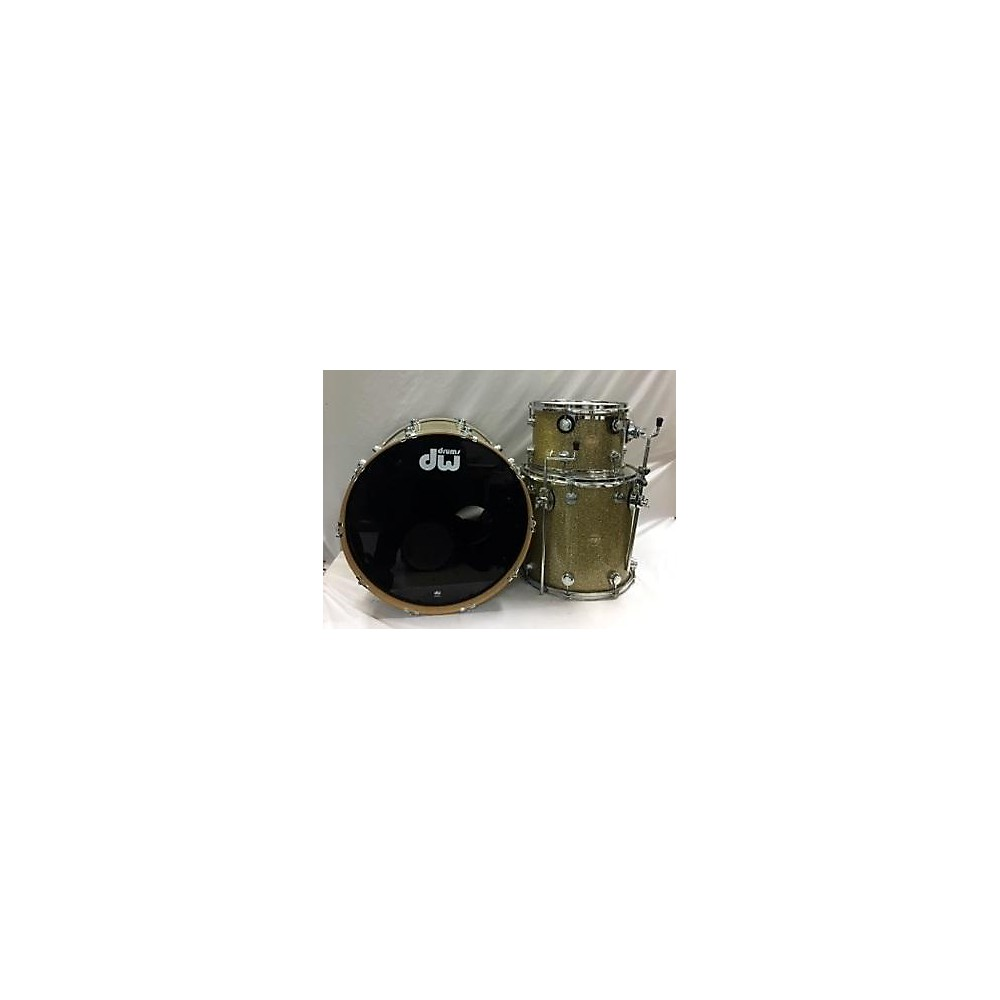 DW Collector's Series Drum Kit Broken Glass 113829535