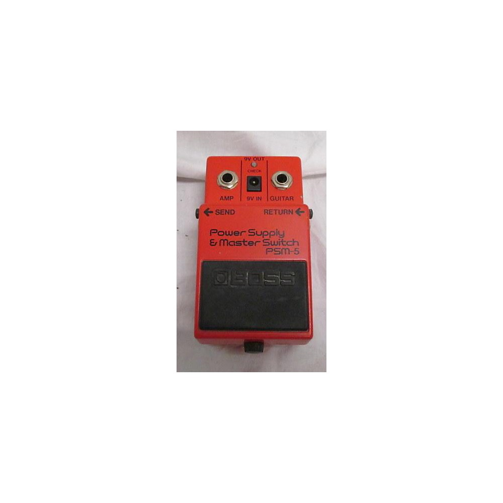 Boss PSM5 Power Supply Master Switch Power Supply 113932994