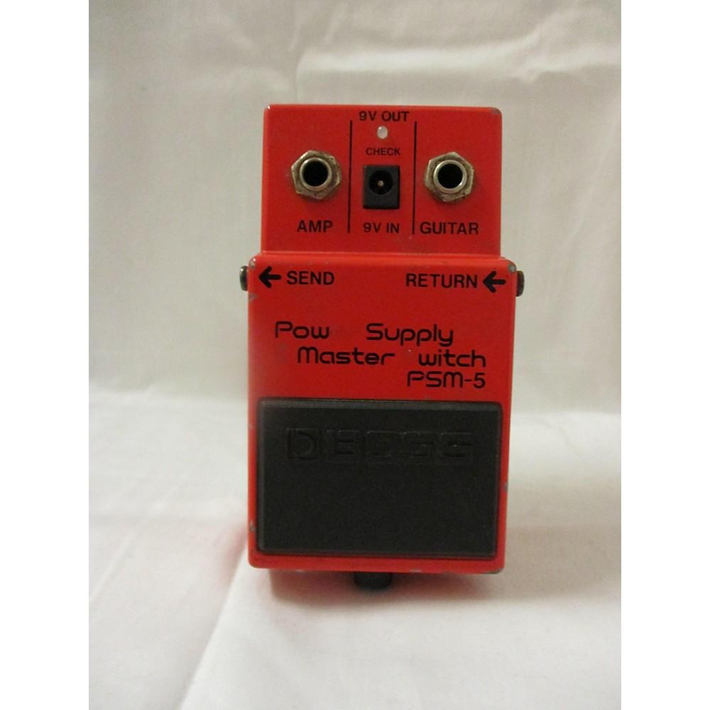 Boss PSM5 Power Supply Master Switch Power Supply 113941360