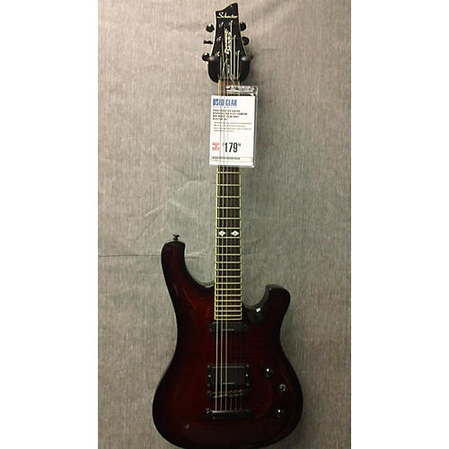 Schecter Guitar Research 006 Elite Crimson Red Burst Solid Body Electric Guitar-thumbnail