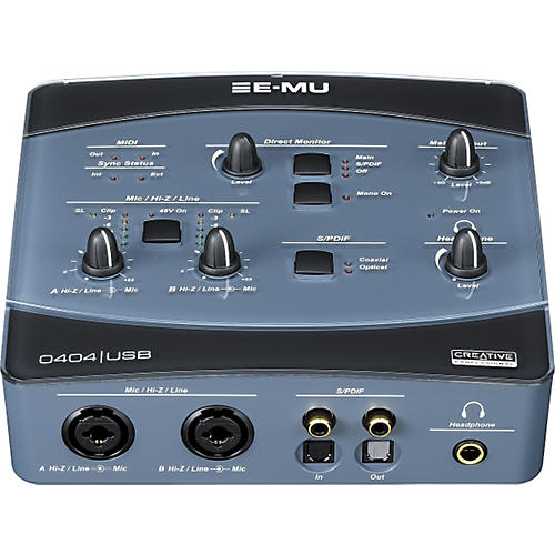 E-mu 0404 USB 2.0 Audio/MIDI Interface
