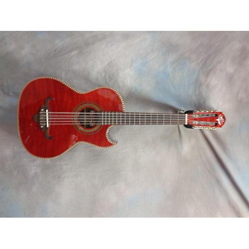 Oscar Schmidt 0H32SEQTR Acoustic Bass Guitar