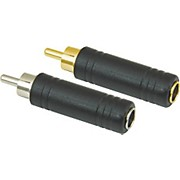 "American Recorder Technologies 1/4"" Female to RCA Male Adapter"
