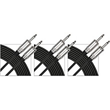 "Gear One 1/4"" Speaker Cable 3-Pack"