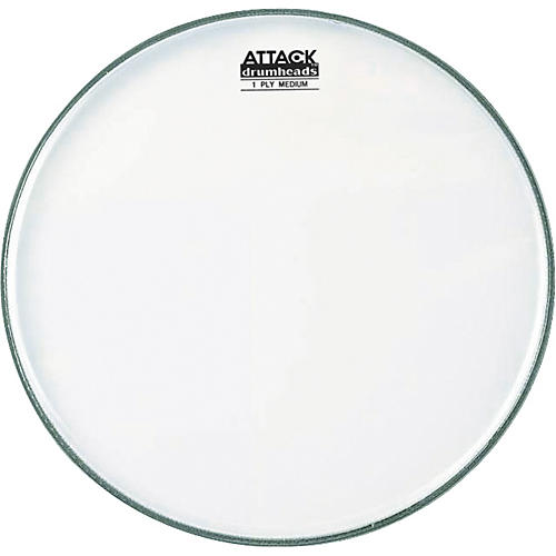 Attack 1-Ply No Overtone Coated Drumhead