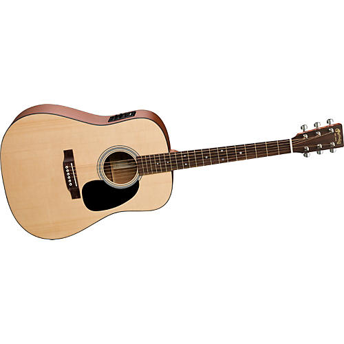 martin 1 series d 1e dreadnought acoustic electric guitar with presys onboard preamp guitar. Black Bedroom Furniture Sets. Home Design Ideas