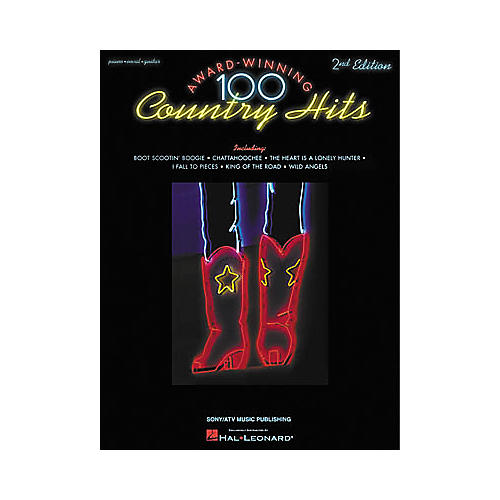 Hal Leonard 100 Award-Winning Country Hits - 2nd Edition Songbook