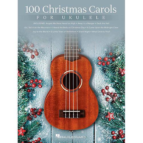 Hal Leonard 100 Christmas Carols For Ukulele-thumbnail