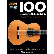 Hal Leonard 100 Classical Lessons - Guitar Lesson Goldmine Series Book/Audio Online