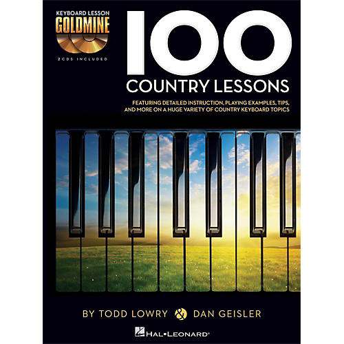 Hal Leonard 100 Country Lessons - Keyboard Lesson Goldmine Series Series Book/2-CD Pack-thumbnail
