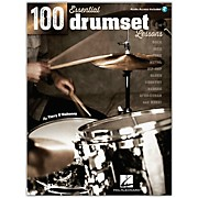Hal Leonard 100 Essential Drumset Lessons Book/CD