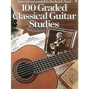 Music Sales 100 Graded Classical Guitar Studies Music Sales America Series ...