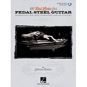 Hal Leonard 100 Hot Licks for Pedal Steel Guitar Pedal Steel Guitar Series ... by Hal Leonard