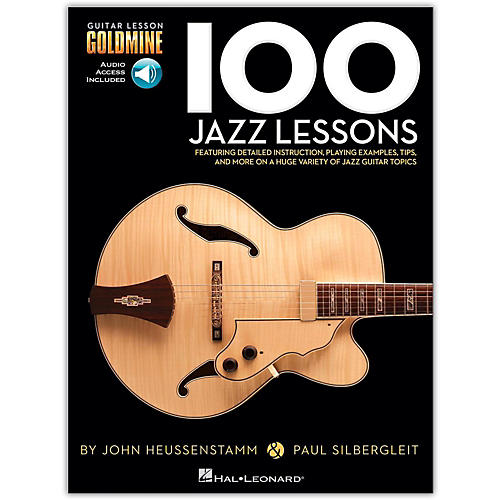Hal Leonard 100 Jazz Lessons Goldmine Series (Book/Online Audio)-thumbnail