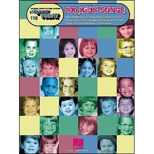 Hal Leonard 100 Kids Songs E-Z Play 118-thumbnail