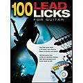 Music Sales 100 Lead Licks for Guitar (Book/CD)-thumbnail