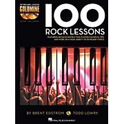 Hal Leonard 100 Rock Lessons - Keyboard Lesson Goldmine Series Book/2-CD Pack