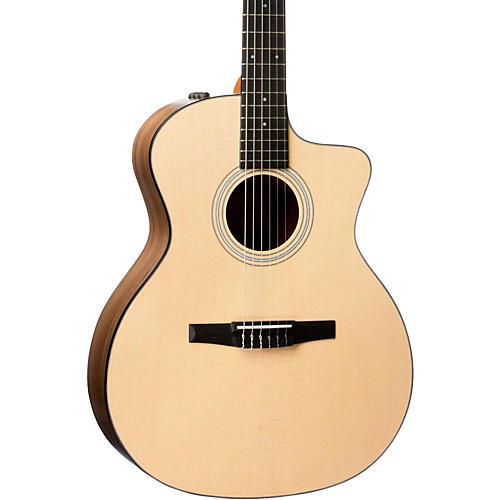 Taylor 100 Series 2017 114ce-N Grand Auditorium Nylon String Acoustic-Electric Guitar-thumbnail