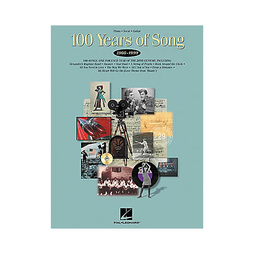 Hal Leonard 100 Years of Song Piano/Vocal/Guitar Songbook