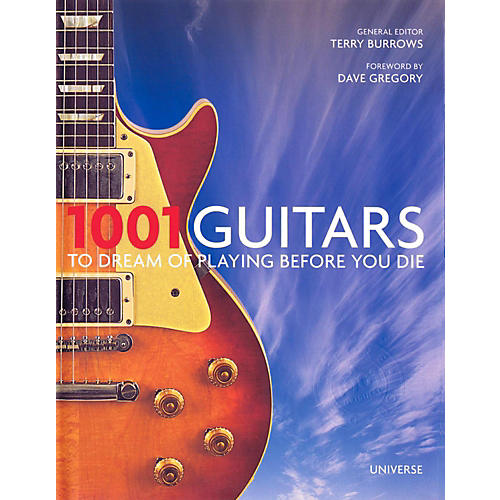Hal Leonard 1001 Guitars To Dream Of Playing Before You Die-thumbnail