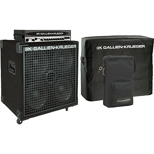 Gallien-Krueger 1001RB-II Head/410SBX Cabinet Pack with Covers-thumbnail