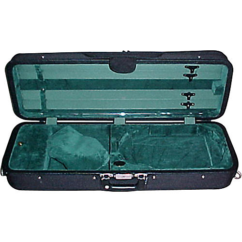 Bobelock 1005VAGRN Oblong Adjustable Violin Case-thumbnail