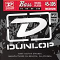 Dunlop Nickel Plated Steel Bass Strings Medium