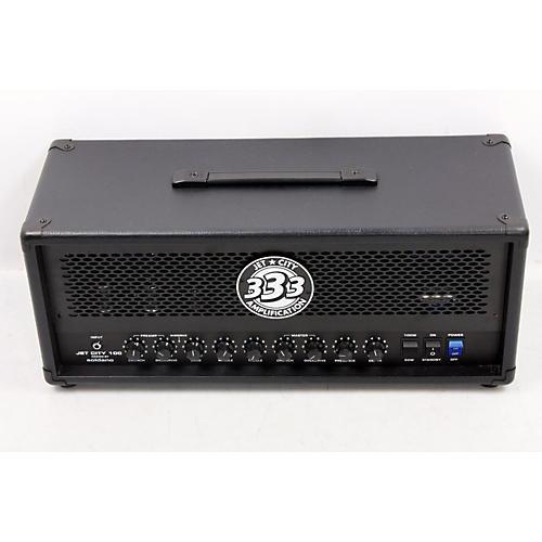 Jet City Amplification 100HDM 100W/50W Tube Guitar Amp Head Black 888365411491