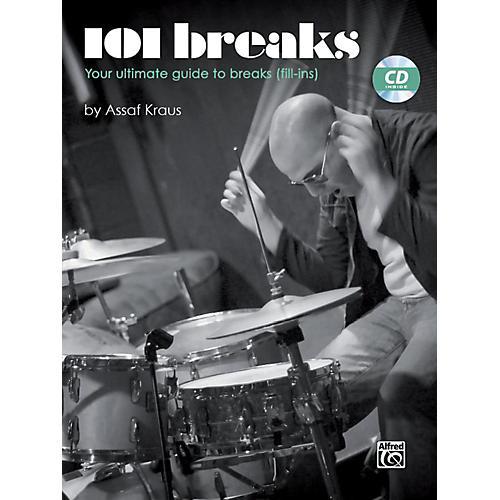 Alfred 101 Breaks Drum Book & CD