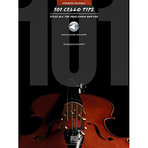 Hal Leonard 101 Cello Tips - Stuff All The Pros Know and Use (Book/Audio)-thumbnail