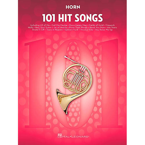 Hal Leonard 101 Hit Songs - Horn-thumbnail