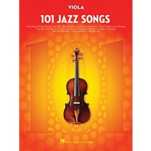 Hal Leonard 101 Jazz Songs for Viola Instrumental Folio Series Softcover