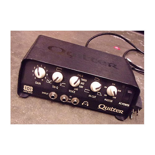 used quilter labs 101 mini head solid state guitar amp head guitar center. Black Bedroom Furniture Sets. Home Design Ideas