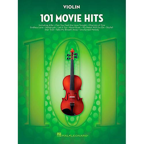 Hal Leonard 101 Movie Hits - Violin-thumbnail