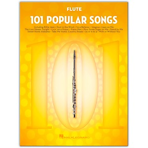 Hal Leonard 101 Popular Songs for Flute by Hal Leonard